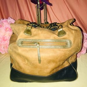 J Crew Weekender Leather Sac Bag